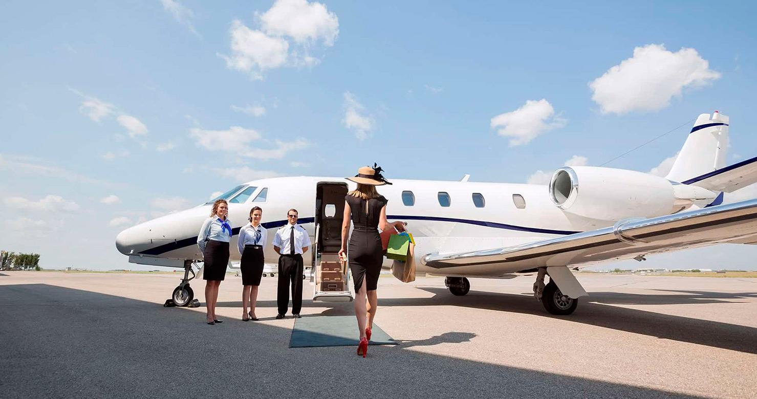 PRIVATE AIR CHARTER ENHANCES LEISURE TRAVEL