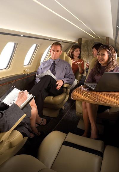 business jet charter service