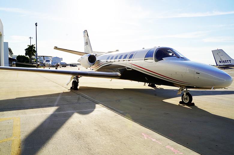 citation sII N881A jet
