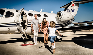 private jet charter vacations
