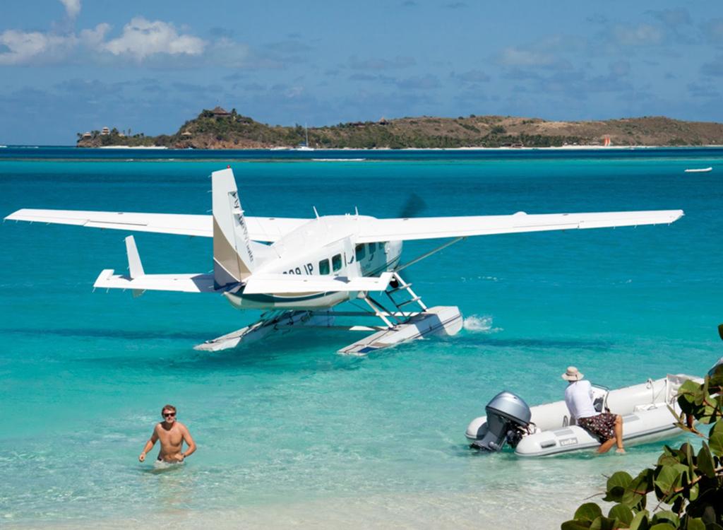 seaplane bahamas exumas