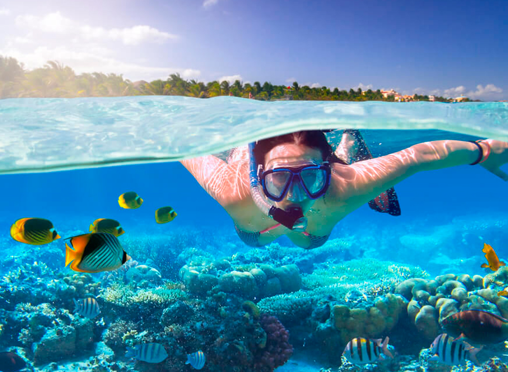 snorkeing bahamas