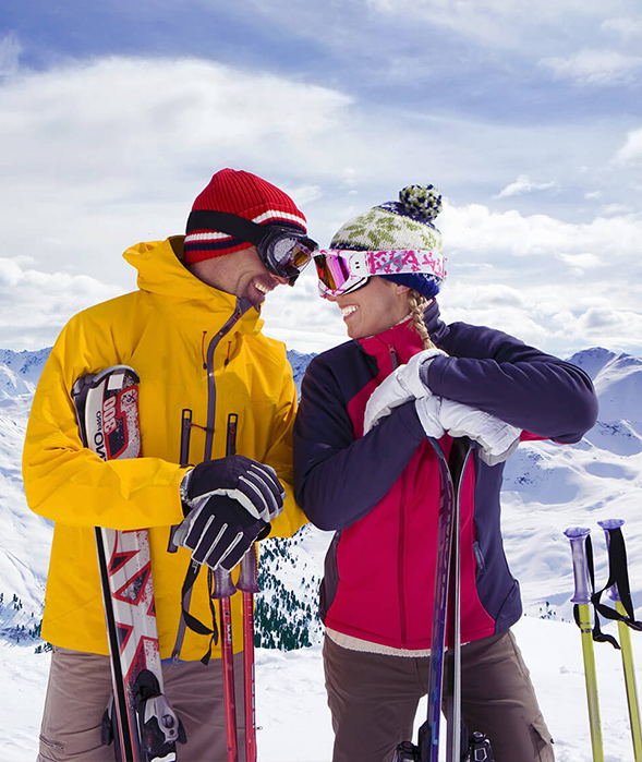 Tourism vacation skiing charters